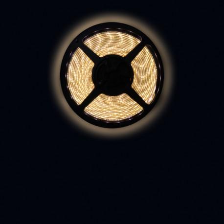 Ruban LED 3528 / 60 LED mètre blanc chaud pour intérieur (IP65)