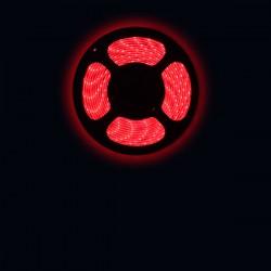 Ruban LED 3528 / 60 LED mètre rouge pour intérieur (IP65)