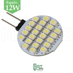 Ampoule 12V G4 LED 1.5W blanc froid