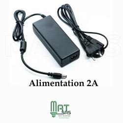 Transformateur 12V / 2 A avec cable