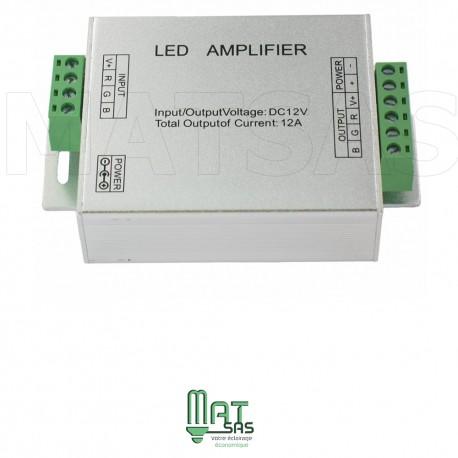 Amplificateur pour ruban LED RGB 5050 ou 3528