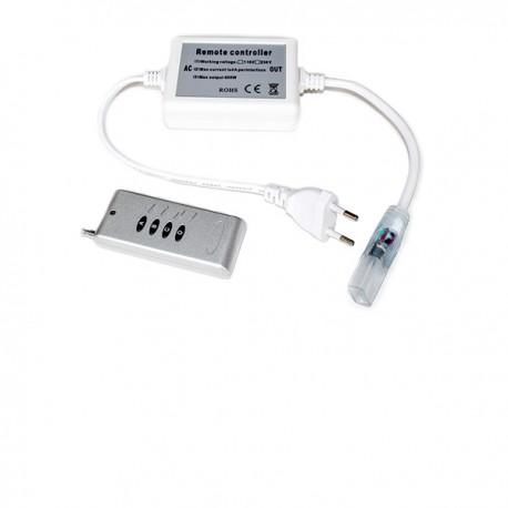 Controleur télécommande radio pour ruban led RGB (multi couleur) 220V