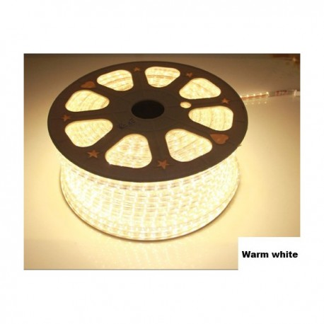 Strip LED 5050 en 25 ou 50 mètres Blanc chaud étanche (IP68)