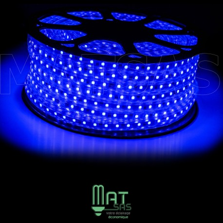 Strip LED 5050 en 25 ou 50 mètres Bleu étanche (IP68)