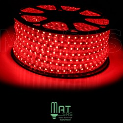 Strip LED 5050 en 25 ou 50 mètres Rouge étanche (IP68)