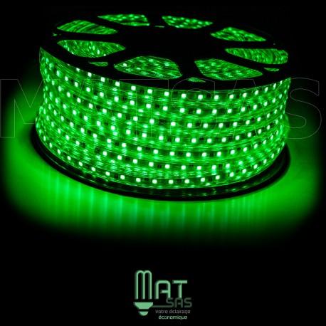 Strip LED 5050 en 25 ou 50 mètres Vert étanche (IP68)