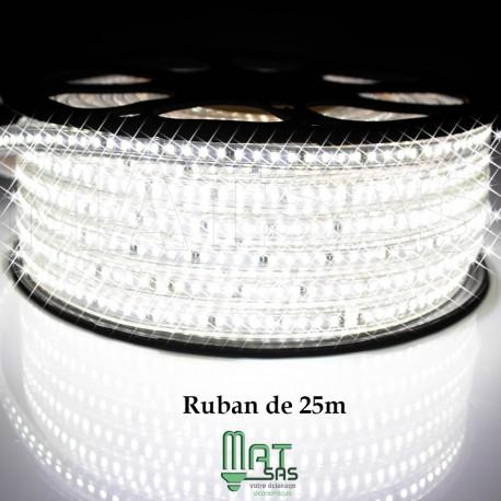 Strip LED EPISTAR 2835/120 25 ou 50 mètres super puissant blanc Froid étanche (IP68)