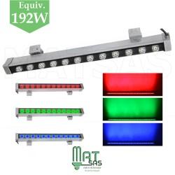 Wallwasher LED RGB (muti couleurs) de 1 métre avec télécommande radio