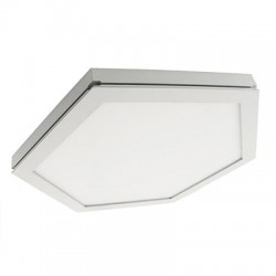 Dalle LED hexagonale 283X283X23H mm 10w