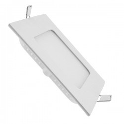 Downligth LED Carrée Extra Plate 6W dimension 120 X 120 X 12 mm