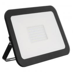 Projecteur LED Extra-Plat Crystal 100W Noir