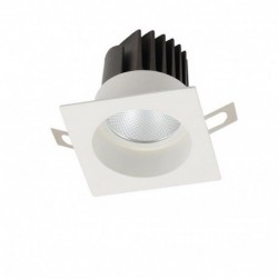 Spot monobloc encastrable 12 Watts blanc naturel