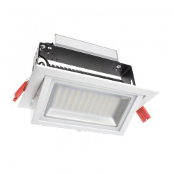 Projecteur LED rectangulaire orientable 48W