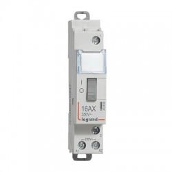 Télérupteur Legrand CX3 1P 16A 1F - tension commande 230V