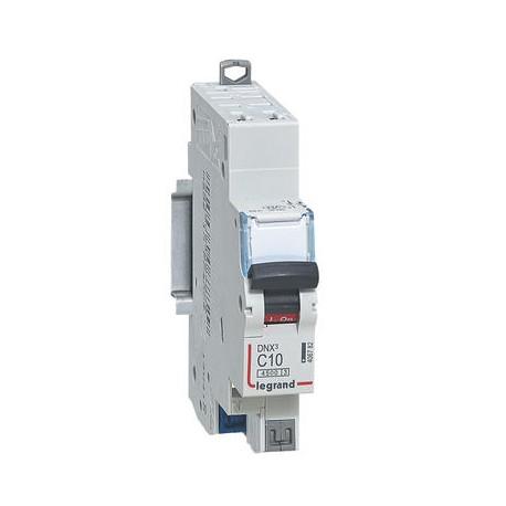 Disjoncteur Legrand DNX3 C10 courbe C 4500A / 6KA automatique