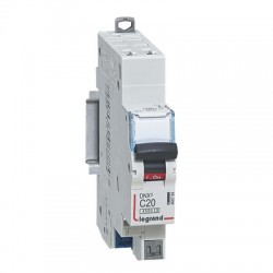 Disjoncteur Legrand DNX3 C20 courbe C 4500A / 6KA automatique