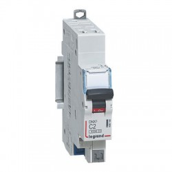 Disjoncteur Legrand DNX3 C2 courbe C 4500A / 6KA automatique