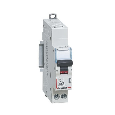 Disjoncteur Legrand DNX3 C32 courbe C 4500A / 6KA automatiquesortie à vis