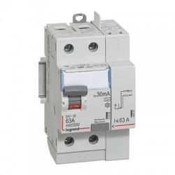 Interrupteurs différentiels Legrand DX3 id 2p 230v 63A type A 30ma vis et automatique