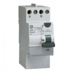 Interrupteur Différentiel Type AC 2 Pôles 40A 30MA Général électric