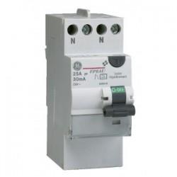 Interrupteur  Différentiel Type A 2 Pôles 40A 30MA Général électric