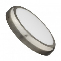 Downlight saillie LED Rond 24W Argenté