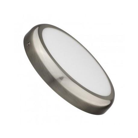 Downlight saillie LED Rond 24W Argenté