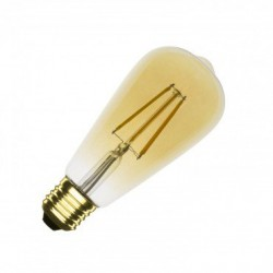 Ampoule LED E27 Dimmable Filament Gold ST64 5.5W