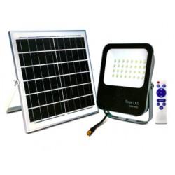 Projecteur LED Solaire 100W  Blanc Froid étanche (IP65) BRIDGELUX