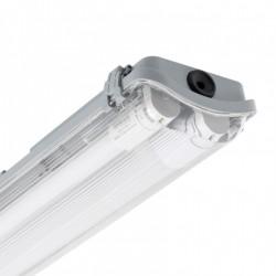 Réglette étanche 1200 mm double connection latéral