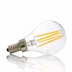Ampoule E14 sphérique 6W ( petite culot ) blanc neutre