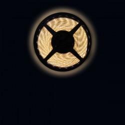 Ruban LED 3528 / 60 LED mètre blanc chaud pour intérieur (IP65) longueur 5 mètres