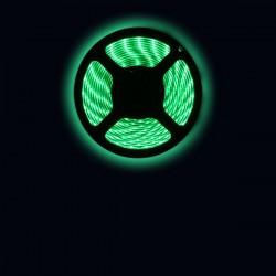 Ruban LED 3528 / 60 LED mètre vert pour intérieur (IP65) longueur 5 mètres