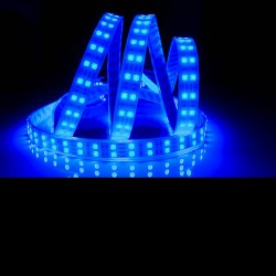 Ruban LED 5050 / 120 LED mètre bleu étanche (IP68) longueur 5 mètres