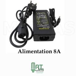 Transformateur 12V / 8 A avec cable