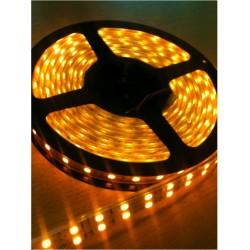 Ruban LED 5050 / 120 LED mètre or étanche (IP68)