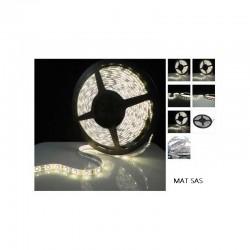 Ruban LED 5630 / 60 LED mètre blanc chaud étanche (IP68) longueur 5 mètres
