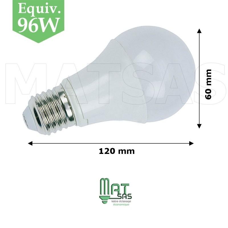 ampoule led 12w e27 gros culot blanc neutre. Black Bedroom Furniture Sets. Home Design Ideas