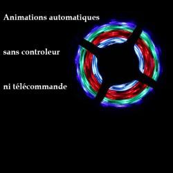 Kit ruban LED 5050/30-SMD2811RGB (multi couleur) longueur 5 mètres