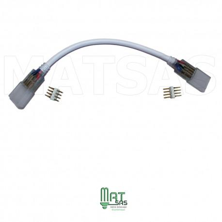 Adaptateur d'angle pour ruban LED 220V RGB multi couleur (25 ou 50 mètres)