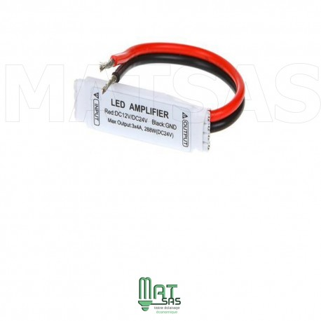 Amplificateur miniature pour ruban LED 5050 RGB