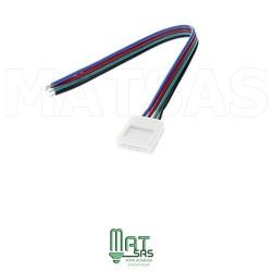 Raccord 5050 RGB ou 3528 RGB avec soudure pour angle