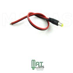 Embout alimentation Male avec cable pour bande LED