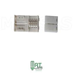 Connecteur sans soudure pour assembler 2 rubans led 5050 RGB