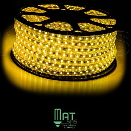 Strip LED 5050 en 25 ou 50 mètres Or étanche (IP68)