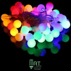 Guirlande LED 10 mètres RGB (multi couleur)