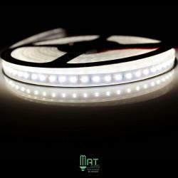 Ruban LED 3014 / 120 LED mètre blanc neutre étanche (IP68) longueur 5 mètres