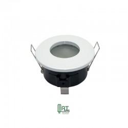 Support étanche blanc pour MR16 ou GU10