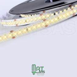 Ruban LED 2835 / 120 LED mètre blanc chaud longueur 5 mètres