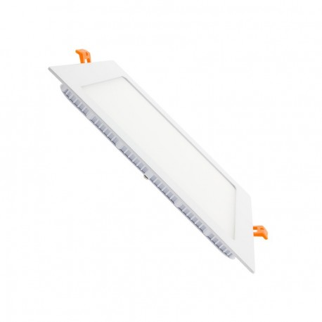 Downligth LED Carré Extra Plate 20W 240x240x20mm